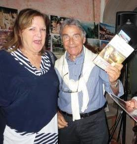 10l magistrato Albino Ambrosio e sua moglie