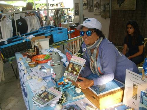 13 Katia Massaro Presidente Onorario Oceanomare delphis - Fiera  Ipomea