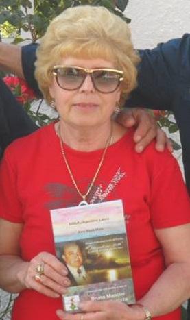 """19 Poetessa Nicolina Spina proprietaria del BB """"Villa dei principi"""" Torrenova (ME)."""