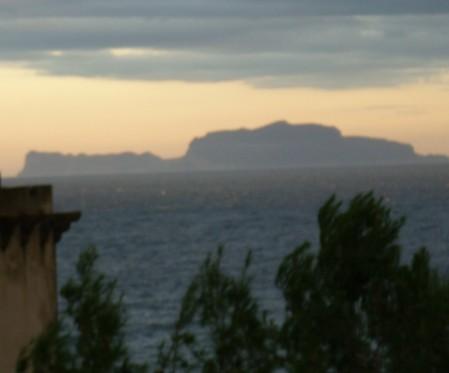 Capri vista da Ischia