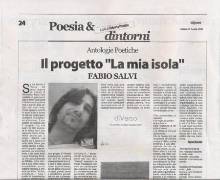 Fabio Salvi articolo Golfo 17042010