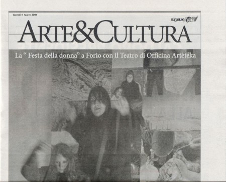 Arteteka - Il Golfo 11 marzo 2010