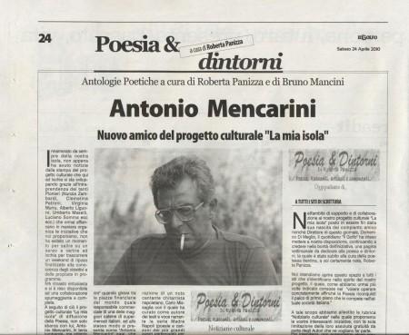 Antonio Mencarini articolo Il golfo  24042010