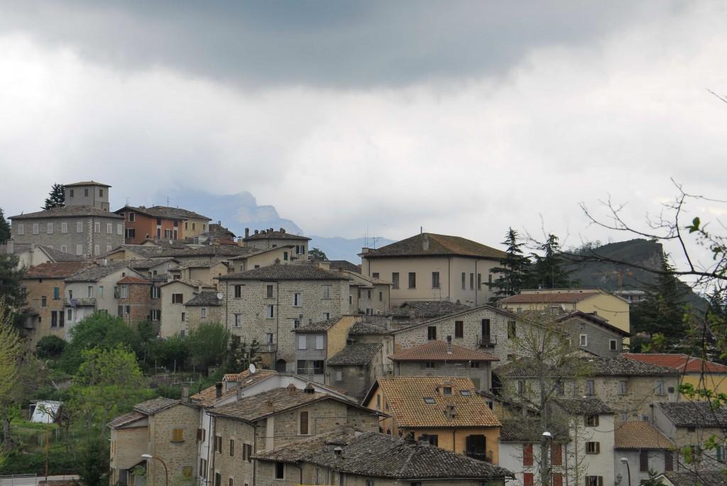 Panorama borgo Venarotta