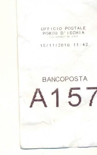 Ticket ufficio postale ischia porto