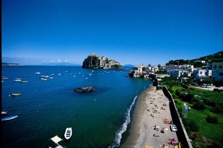 Castello Aragona - spiaggia libera
