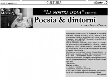 Nunzia Binetti propone Felice Serino