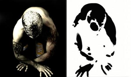 Monticelli rorschach-mg001-2007-dittico-tecnica-mista-su-tela-cm-180x100