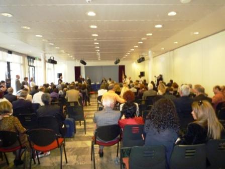 La sala del Centro Conferenze