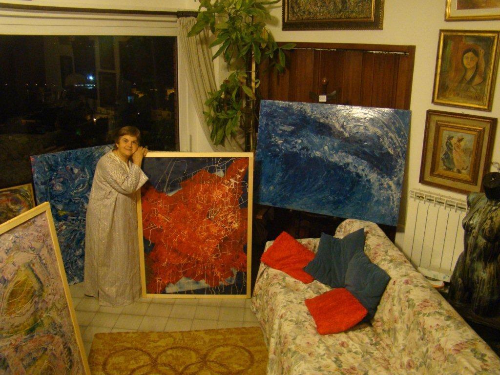 Personale pittorica Nunzia Zambardi