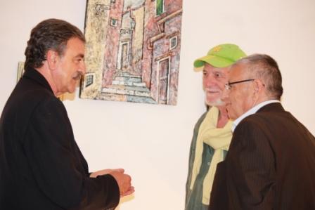 Almerico Di Meglio giornalista - Bruno Mancini scrittore - Vincenzo Savarese giornalista