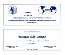 INVITO PASSAGGIO CONSEGNE 6 OTTOBRE