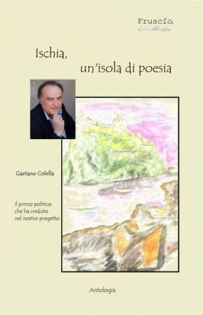 Ischia un'isola di poesia copertina Colella