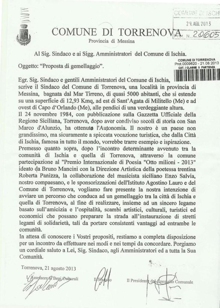 lettera protocollata - comp