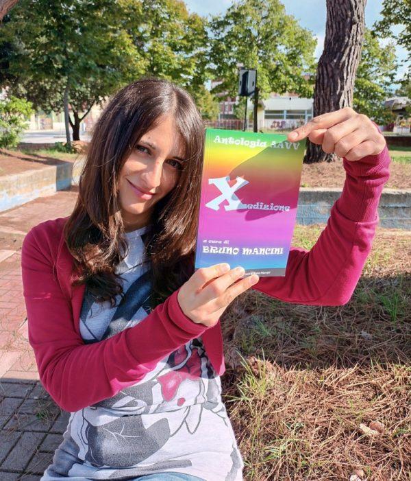 Alessia Gaveglia con antologia XEdizione