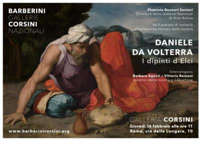 Daniele da Volterra Elia nel deserto Galleria Corsini
