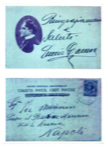 Enrico Caruso scrisse a Mancini