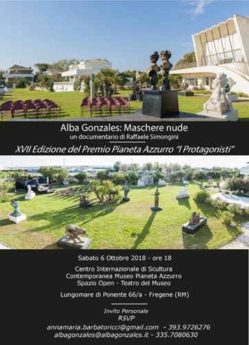 Pianeta Azzurro a Fregene: Premio di Alba Gonzales