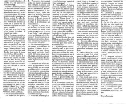 Il Dispari20190107– Redazione culturale Il Dispari20190107 ADRIANA IFTIMIE CEROLI: presentazione ed intervista esclusiva per DILA a cura di Silvana Lazzarino. Coraggio, determinazione, profonda sensibilità e un'innata curiosità