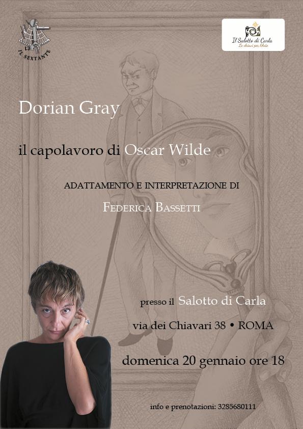 Federica Bassetti presenta Dorian Gray