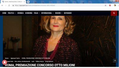 """AGENPARL lancia nel mondo l'evento DILA """"Otto milioni"""""""