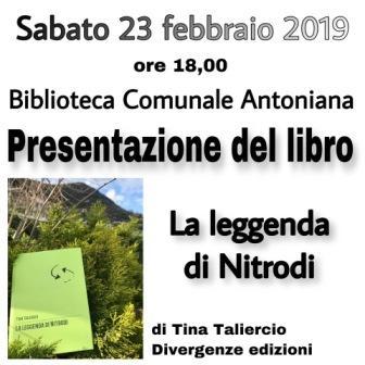 La leggenda di Nitrodi - Presentazione del libro