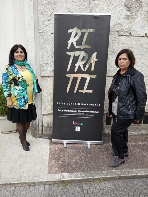 Museo Crocetti rassegna video e foto 25/05/2019 Flora Rucco e Angela Maria Tiberi