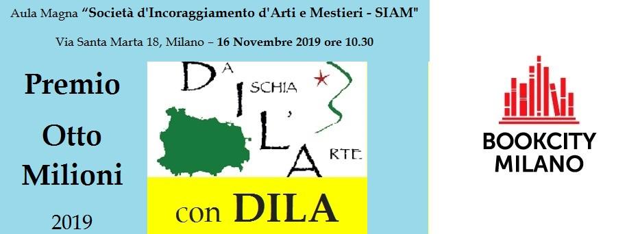 Premio Otto Milioni 2019 - Bookcity DILA