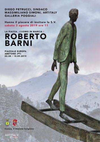 Roberto Barni in mostra ad Abetone (Pistoia)