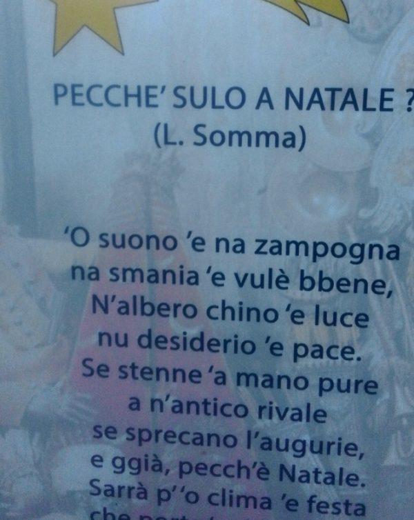 Una poesia di Luciano Somma nel Natale ischitano