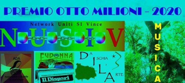 """Premio internazionale di Musica """"Otto milioni"""" – 2020 Premio Musica"""