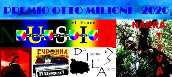 """Premio internazionale di Narrativa """"Otto milioni"""" – 2020"""