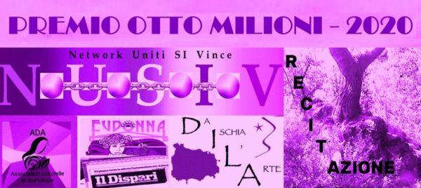 """Premio internazionale di Recitazione """"Otto milioni"""" – 2020"""