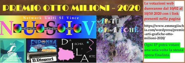 """Premio internazionale di Arti grafiche """"Otto milioni"""" - 2020"""