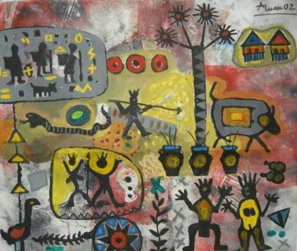"""Art17 Opera finalista Premio Arti grafiche """"Otto milioni"""" 2020"""
