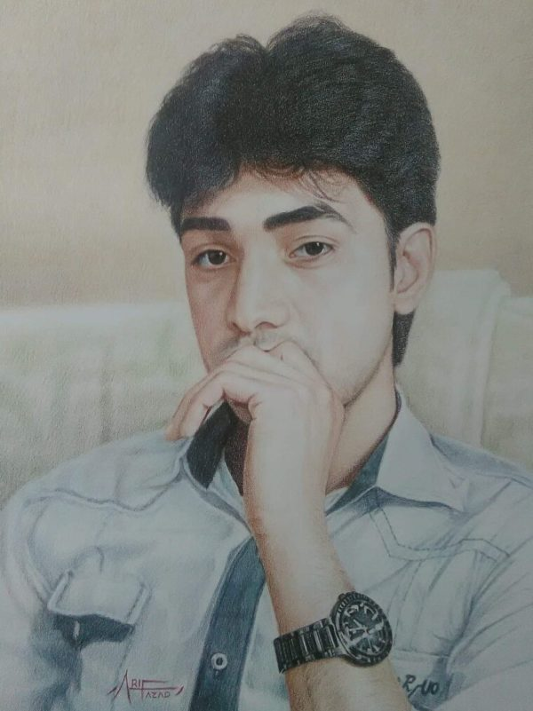 Art22 Opera finalista Arif Azad Painter Dipinti Arti grafiche