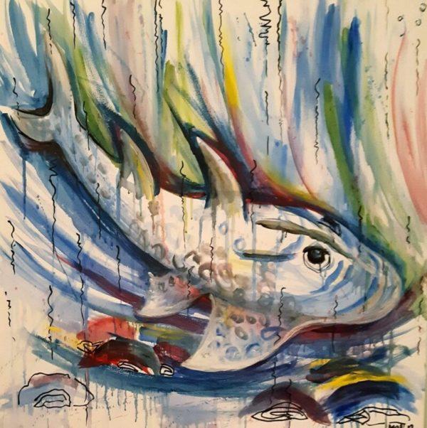 Art40 Opera finalista Melinda Horvath Dipinto