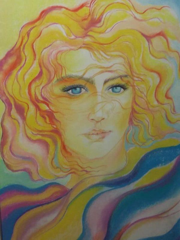 Milena Petrarca primo premio sezione arti grafiche nona edizione OTTO MILIONI 2020