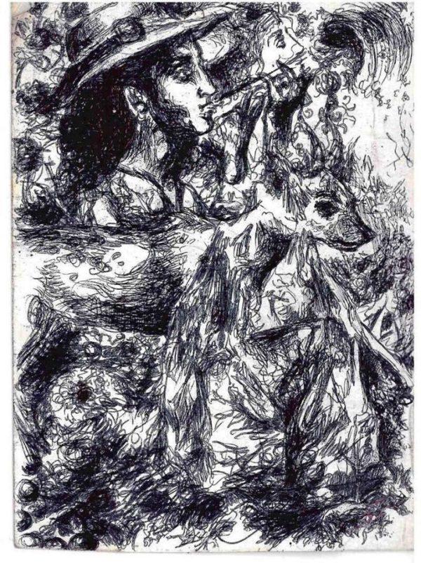 Liga Sarah Lapinska Robin Hood Musician