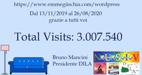 Tre milioni - Total Visits: 3.007.620