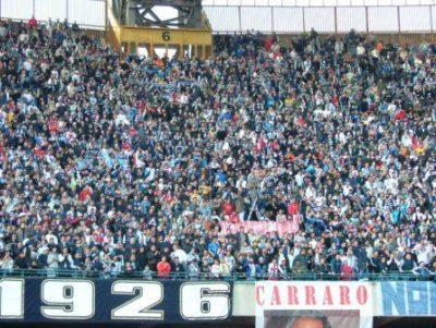 Foto Calcio Napoli - promozione serie A 2007