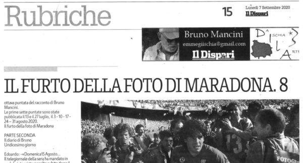 Il Dispari 20200907 Il furto della foto di Maradona