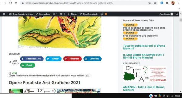OTTO MILIONI 2021 arti grafiche ag15 Milena Petrarca