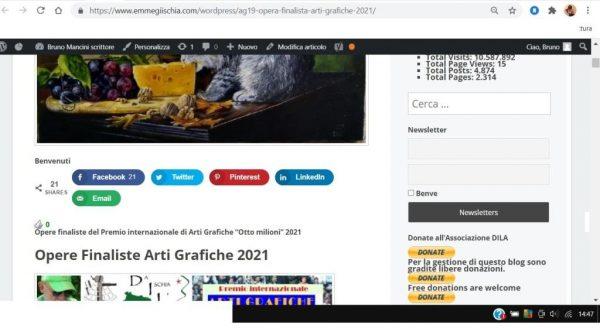 OTTO MILIONI 2021 arti grafiche ag19 Yuri Serebryakov