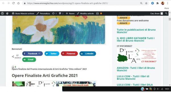 OTTO MILIONI 2021 arti grafiche ag23 Liene Liepiņa