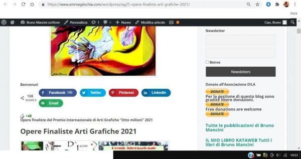 OTTO MILIONI 2021 arti grafiche ag25 Milena Petrarca