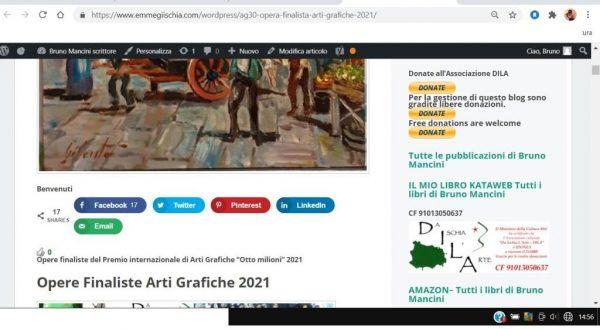 OTTO MILIONI 2021 arti grafiche ag30 Gianfranco Cilento