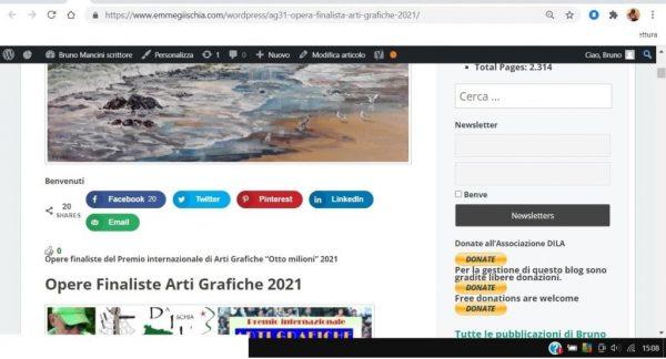 OTTO MILIONI 2021 arti grafiche ag31 German Vizulis