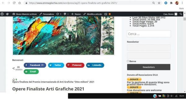 OTTO MILIONI 2021 arti grafiche ag35 Ajub Ibragimov