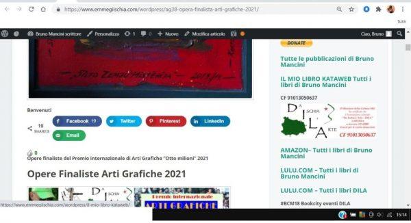 OTTO MILIONI 2021 arti grafiche ag38 Vilis Vizulis